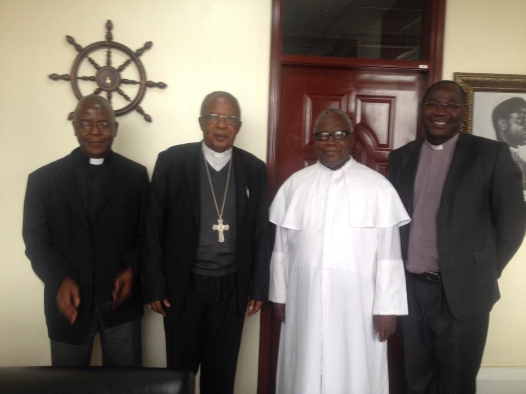 PSI team paid courtesy visit to John Cardinal Njue, the Archbishop of Nairobi